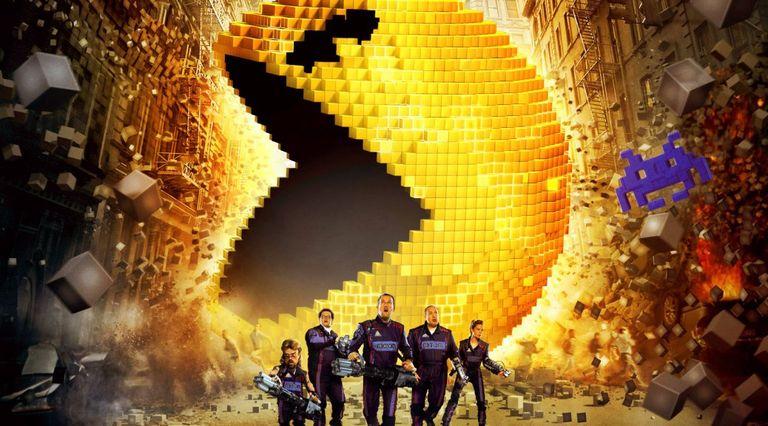 Pixels la película